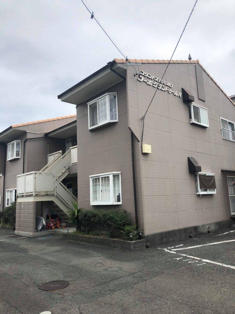 【清水区】アパート塗替え