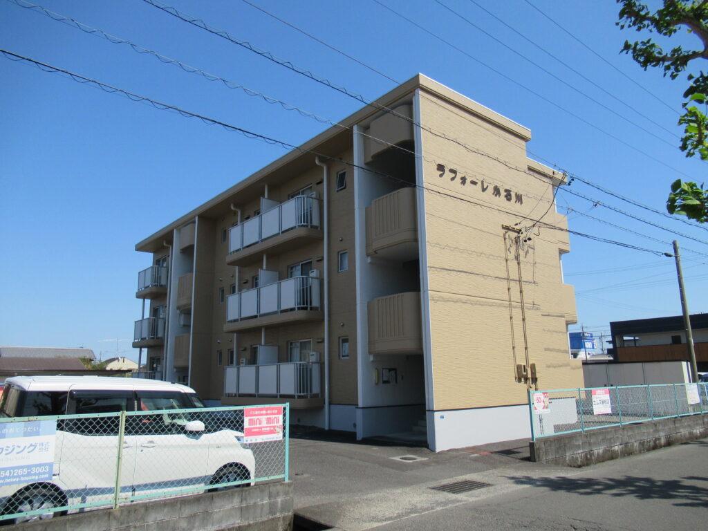 【藤枝市】アパート塗替え