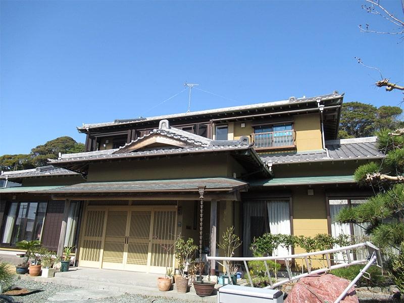【駿河区】和風住宅塗替え