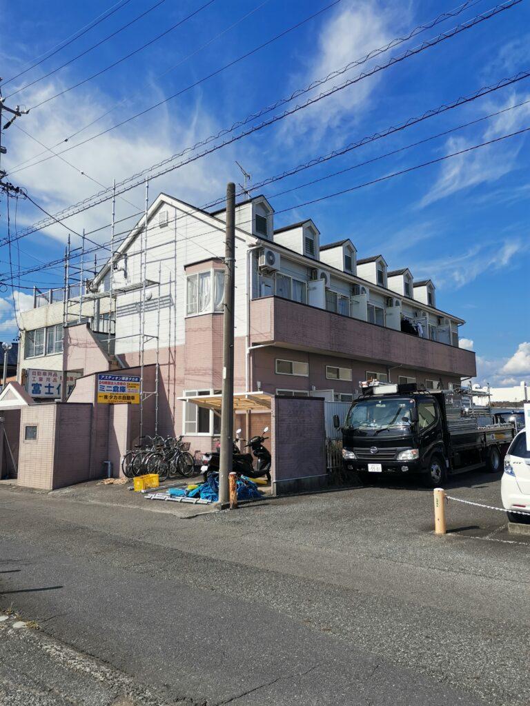 【駿河区】アパート塗り替え