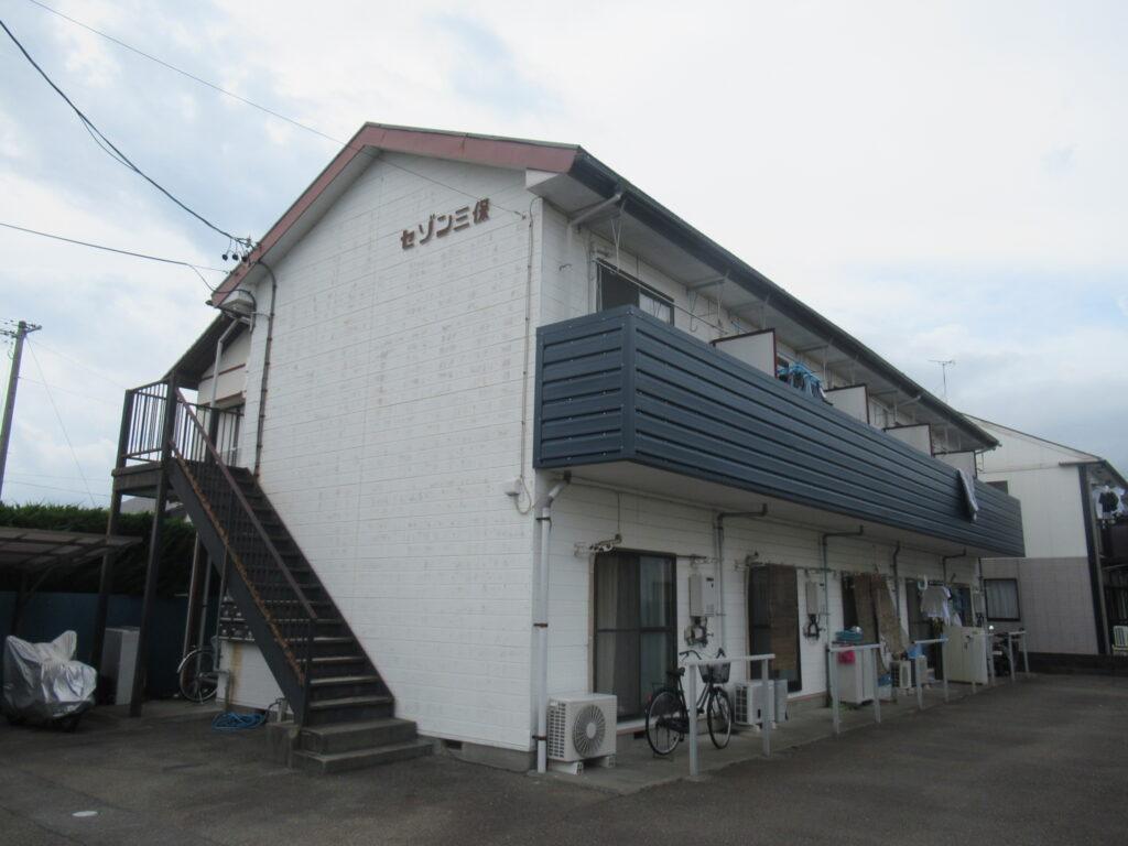 【清水区】アパート塗り替え